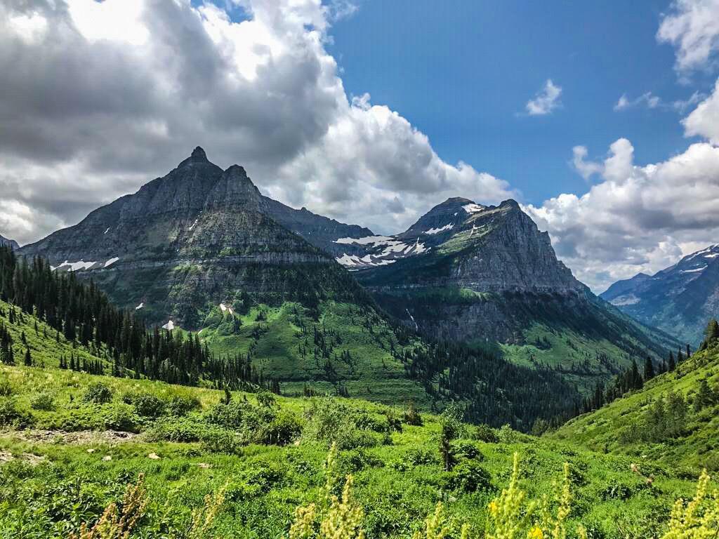Glacier Park nel Montana