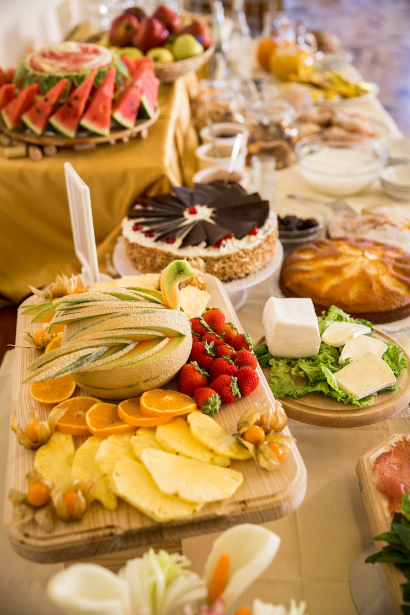 La colazione a buffet dell'Hotel Daniela