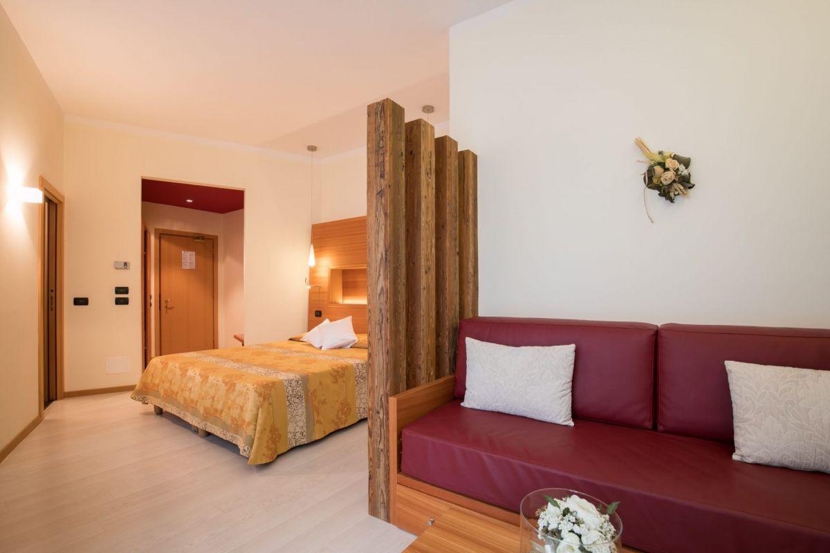 """La suite """"Memory"""" che ci siamo concessi quest'anno all'Hotel Daniela"""