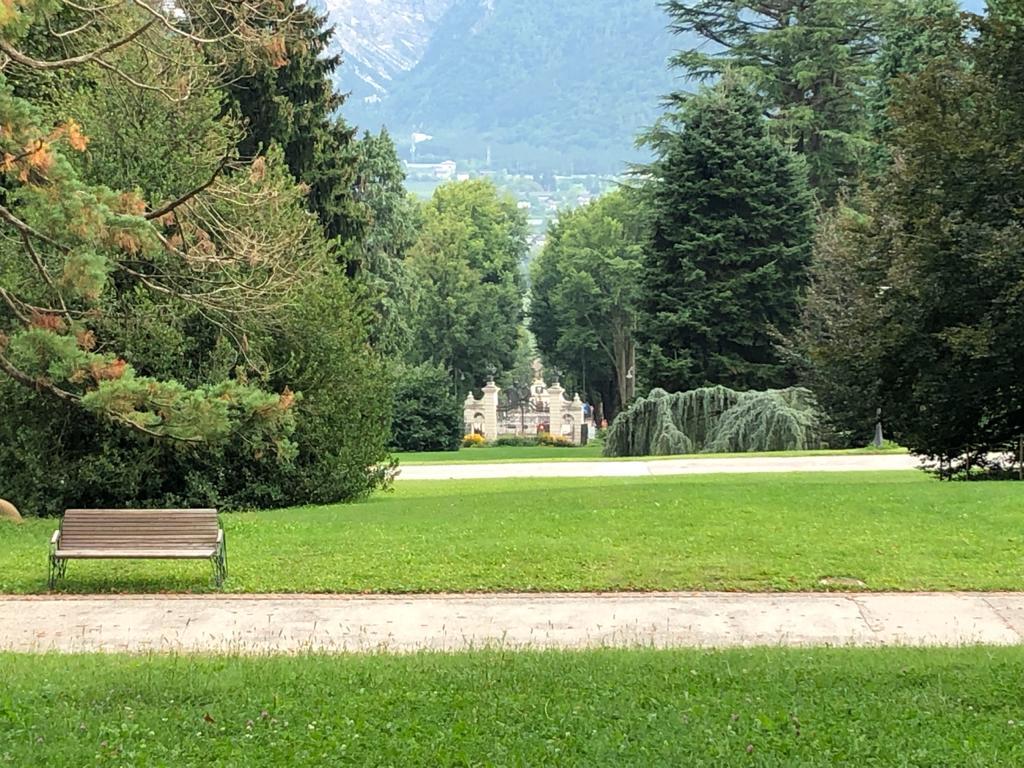 Il Parco di Sissi imperatrice vicino all'Hotel Daniela
