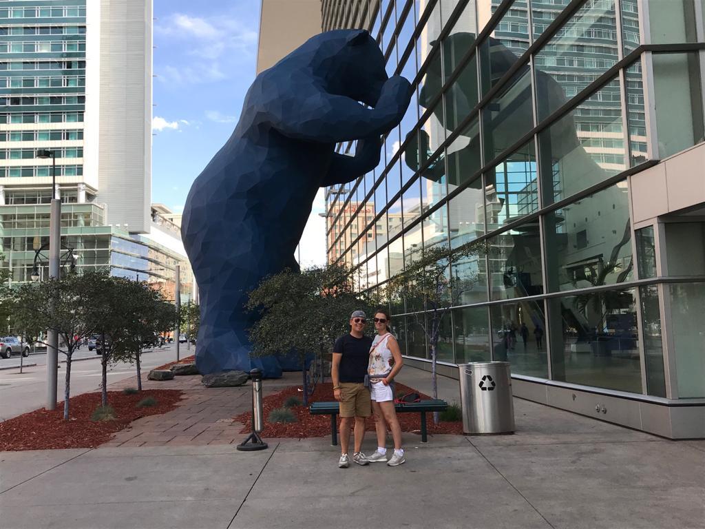 denver blue bear colorado usa