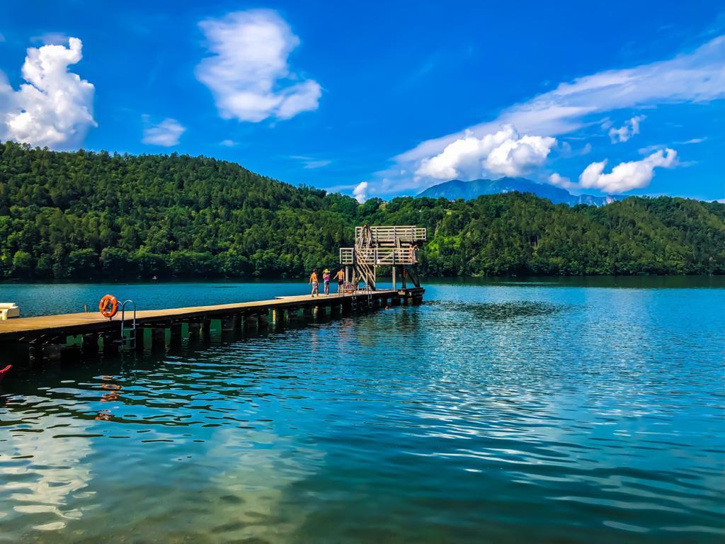 Hotel Daniela a Levico Terme: Il lago di Levico Terme