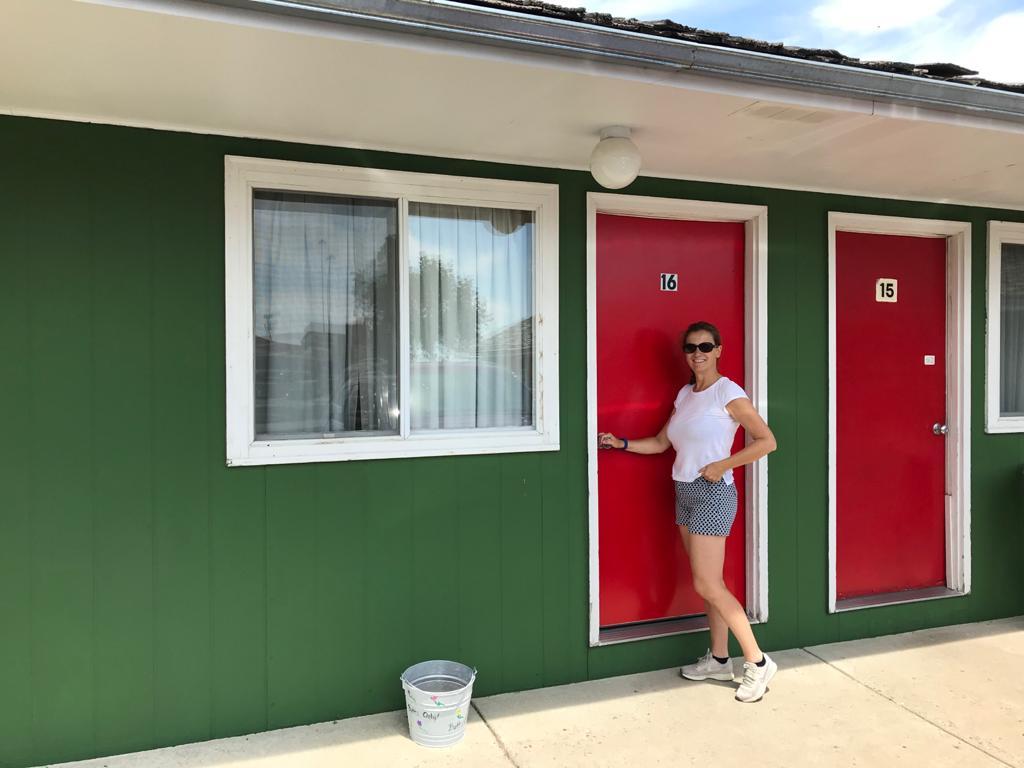 Welsh's motel a Wall in South Dakota