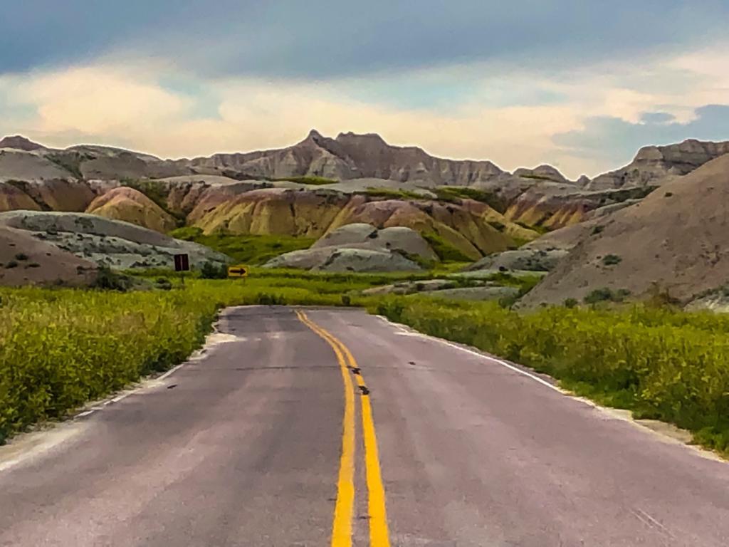 Parco nazionale delle Badlands in South Dakota
