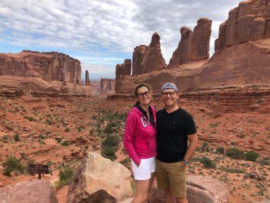 Arches National Park nello Utah Stati Uniti