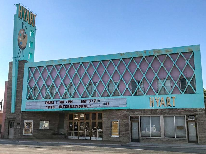 hyart thyart theatre a Lovell in Wyoming