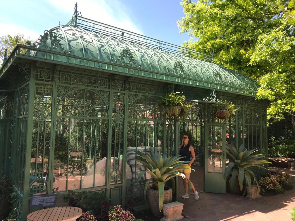 victorian secret garden nel giardino botanico di Denver