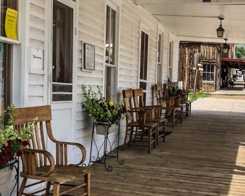 Lo storico Fairweather Inn a Virginia City