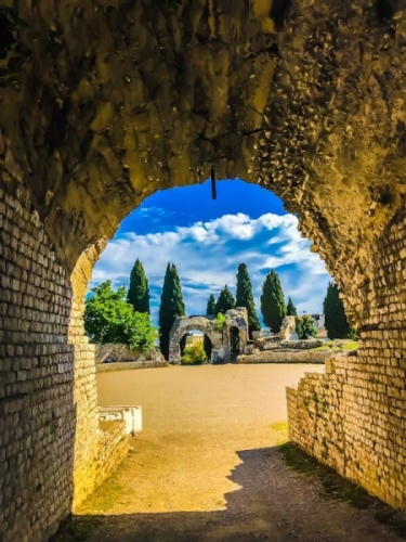 L'arena romana a Cimiez-Nizza