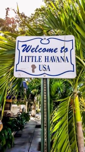 Ingresso a Little Havana Miami