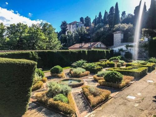 Cimiez - giardino del monastero