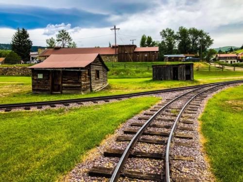 La vecchia ferrovia di Nevada City - Montana