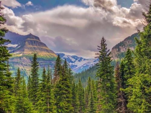 Glacier NP - Montana: il ghiacciaio Jackson
