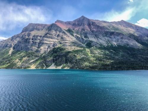 Glacier NP: il St Mary Lake Montana