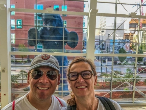 Il Big Blue Bear a Denver