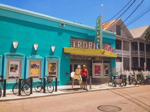 Edifici colorati di Key West Miami